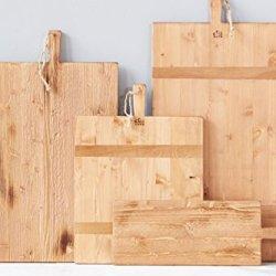 Reclaimed Pine Wood Rectangle Charcuterie Board