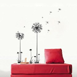DIY Home Decoration Beautiful Dandelion Fly