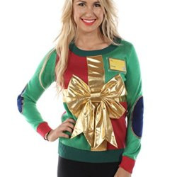 Tipsy Elves Women's Sweater: Large