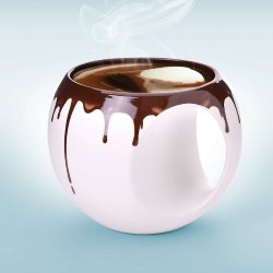 Asobu Hot Chocolate Mug, 14-Ounce