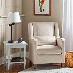 Ravenna Home Radford Modern Curved Accent Chair