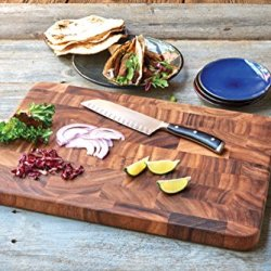 Ironwood Gourmet Large Charleston End Grain Prep Station