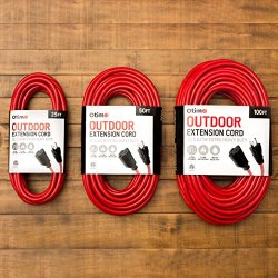 Otimo 50 Ft 12/3 Outdoor Extra Heavy Duty Extension Cord