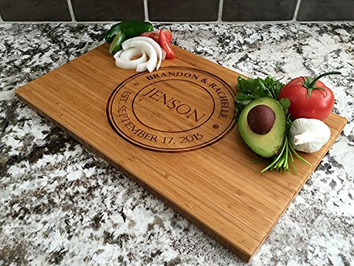 Personalized Wedding Gifts Cutting Board