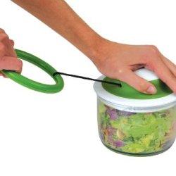 Chef'n VeggiChop Hand-Powered Food Chopper (Cherry)