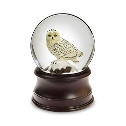 THE SAN FRANCISCO MUSIC BOX COMPANY Snowy Owl Snow Globe