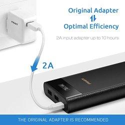 PISEN Power Bank 20000mAh, USB Portable Charger