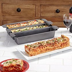 3 Section Trisagna Pan Baking Dish Cooking Bakeware