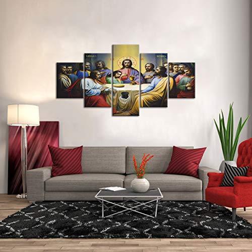 Large Christ Christian Canvas Wall Art Prints
