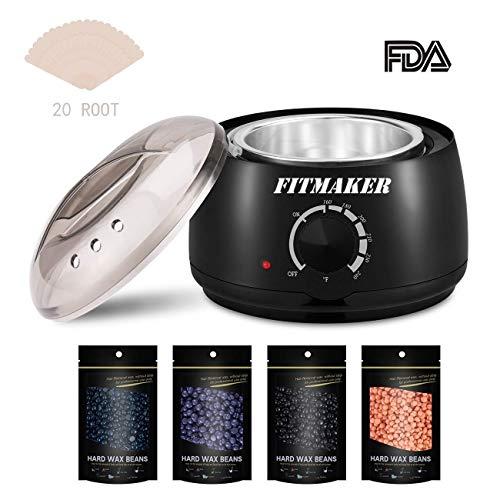 Professional Wax Heater Pot Self-Waxing Spa 4 Flavors