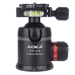 AOKA tripod ball head 360 degree fluid rotation