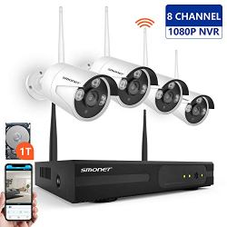 【2019 New】 Wireless Security Camera System