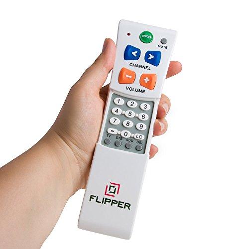 Flipper Big Button Remote for 2 Devices - Seniors
