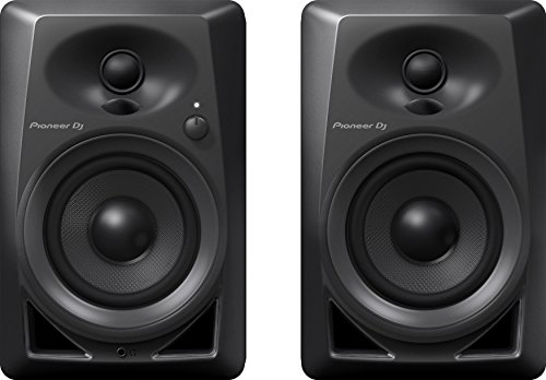 Pioneer Pro DJ Studio Monitor, Black (DM40)