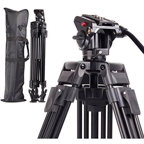 Regetek Professional Video Camera Tripod System