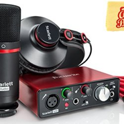 Focusrite Scarlett Solo Studio USB Audio Interface Bundle