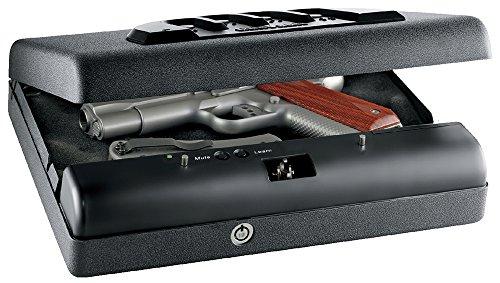 "GunVault Microvault XL, 3.5"" H X 10.25"" W X 12"" D, Black"