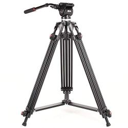 Video Tripod, Professional Camera DSLR Camcorder