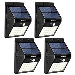 SUAOKI Solar Lights Outdoor Super Bright 28 LED Waterproof