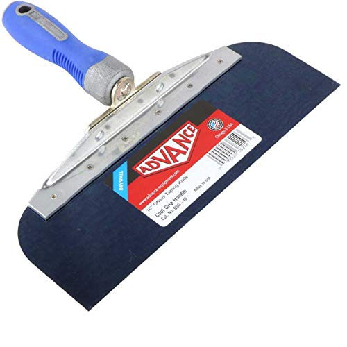 "Drywall Taping Knife 10"" with Blue Steel Blade"