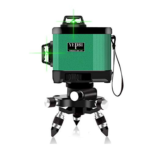 12 Line Laser Level, Self-leveling Vertical and Horizontal