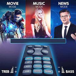 Sound Bar, MEGACRA Soundbar 2018 Version