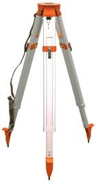 CST/berger 60-ALQRI20-O Heavy Duty Contractor Aluminum Tripod, Orange