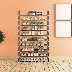 Blissun Shoe Racks Space Saving Non-woven Fabric Shoe Storage Organizer