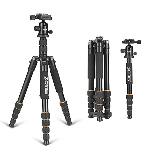Professional Stable Portable Lightweight Travel Compact Tripod Monopod