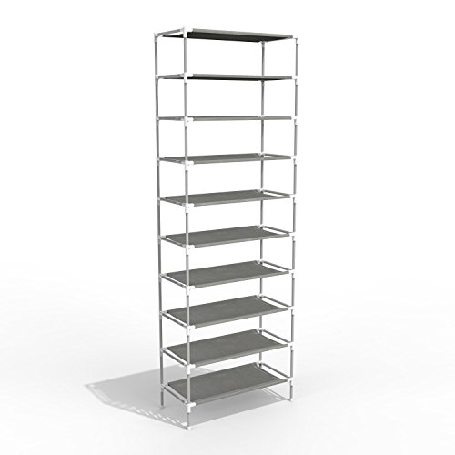 10 Tiers Shoe Rack Easy Assembled