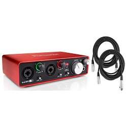 Focusrite Scarlett 2i2 2 in / 2 out USB 2.0 2ND GENERATION Audio Recording