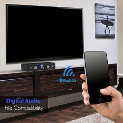 Pyle 3D Surround Bluetooth Soundbar - Sound System