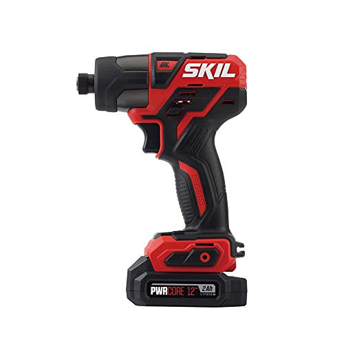 SKIL PWRCore 12 Brushless 12V 1/4 Inch Hex Cordless Impact Driver