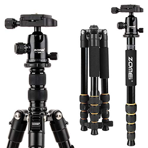 Portable Tripod with Ball Head Heavy Duty Lightweight