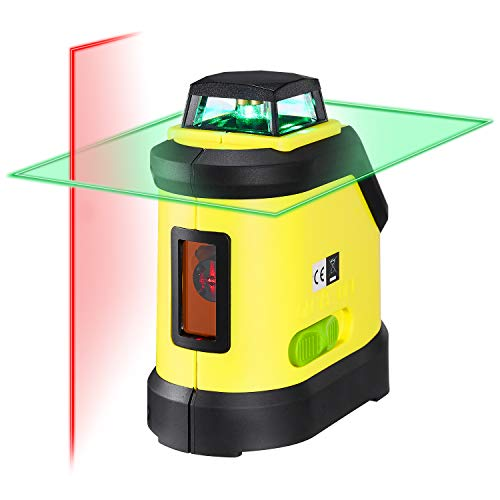 Firecore Self- Leveling 360 Degree Cross Line Laser