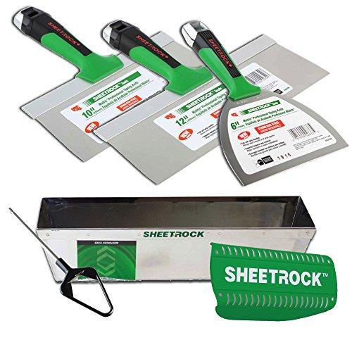USG Sheetrock Matrix Drywall Taping Knife Set