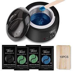 Vennco Brazilian Bikini Home Waxing Kit Hair Depilatory