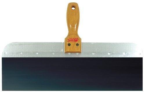 Wallboard Tool 14 in. Blue Steel Wood Handle Taping Knife
