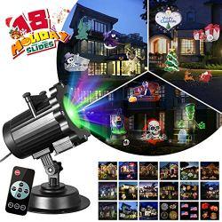 Zeonetak All Year Holiday Projector Light