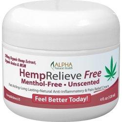 Organic Hemp Extract 200 mg Pain Relief Cream Menthol