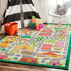 nuLOOM Nursery City Neighborhood Kids Area Rugs