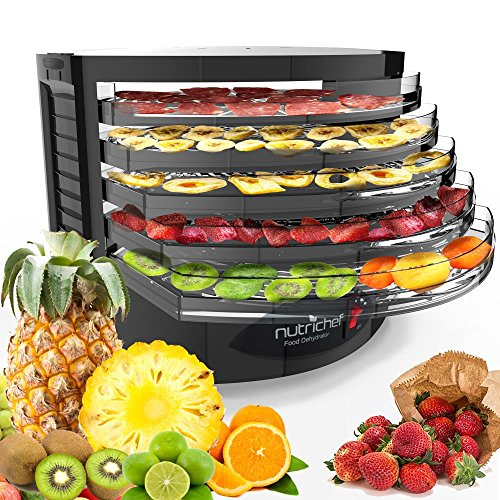 NutriChef Electric Food Dehydrator Machine
