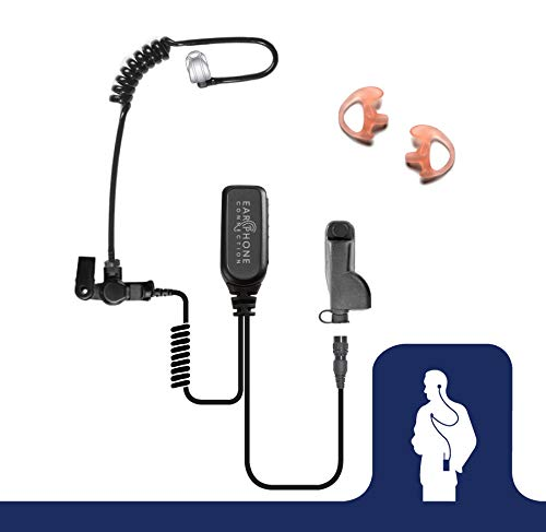 Hawk Lapel Mic with Quick Release Adapter for Motorola