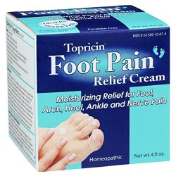 Topricin Pain Relief Cream 4 Oz, 3 Pack