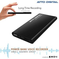 Voice Activated Recorder and Power Bank