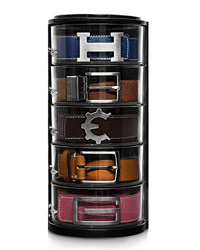 Elypro Belt Organizer - Acrylic Organizer & Display for Belts