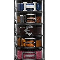 Elypro Belt Organizer - Acrylic Organizer & Display for Belts