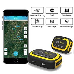 goTele GPS Tracker, No Monthly Fee No Network Required