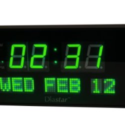 Diastar Big Oversized Digital LED Calendar Clock