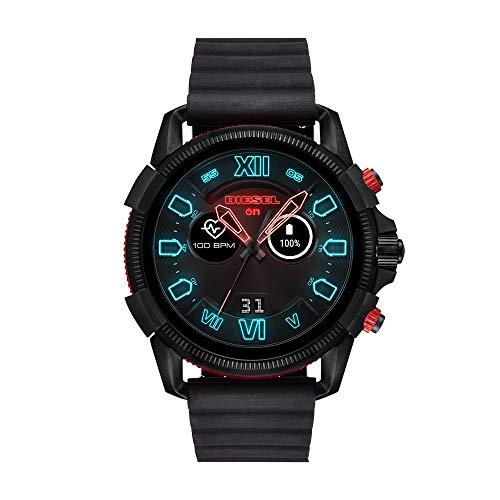 Diesel Mens Diesel ON Full Guard 2.5 Touchscreen Smartwatch Black